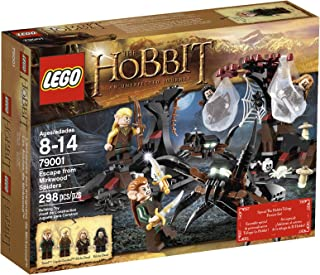 The Hobbit Escape from Mirkwood Spiders