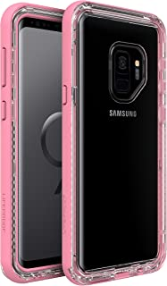 LifeProof Next Premium, Two-Piece, Dropproof, Dirtproof, Snowproof Clear Case for Samsung Galaxy S9 - Cactus Rose