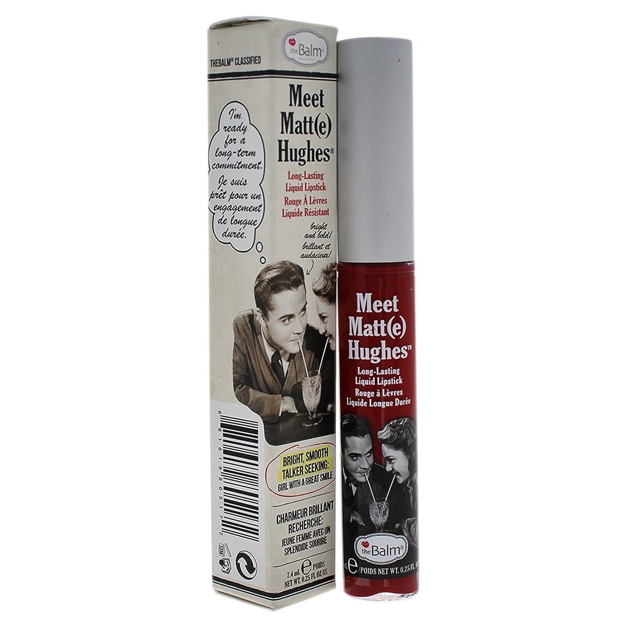ポルティコ文化信号ザバーム Meet Matte Hughes Long Lasting Liquid Lipstick - Loyal 7.4ml/0.25oz並行輸入品