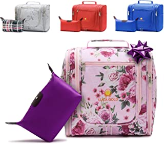 travel cosmetic bag with hook,Flower (Flower)