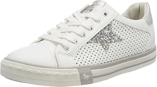 MUSTANG Wohombres Low Turnzapatos blanco