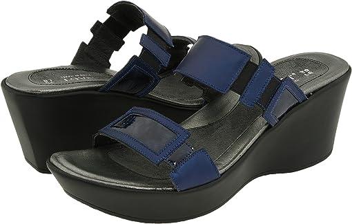 Polar Sea/Navy Patent Leather