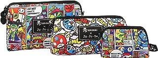 JuJuBe Be Set Travel Accessory Bags, Tokidoki Collection - Super Toki