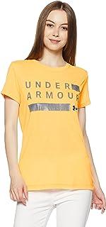 Under Armour Women's Threadborne Graphic Twist Short Sleeve Shirt