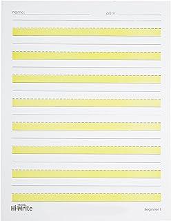 Abilitations 089661 Hi-Write Beginner Paper, Level 1, Pack of 100