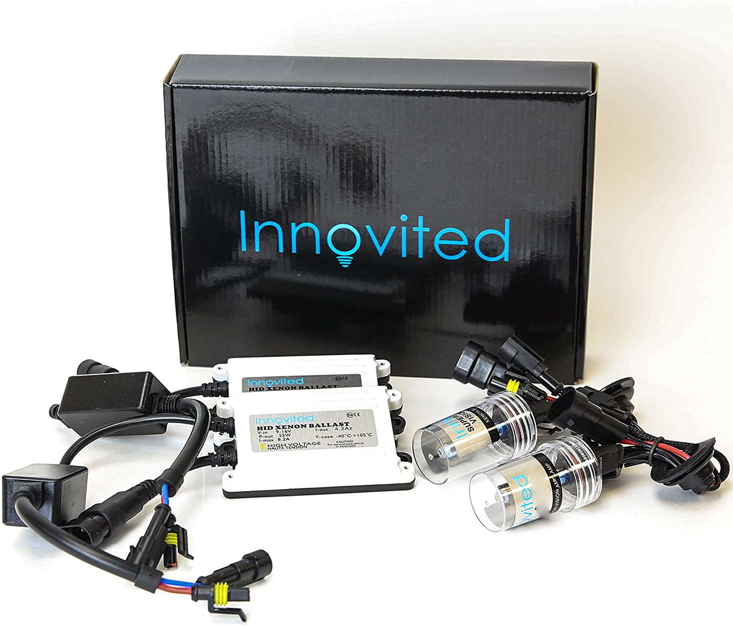 Innovited 55W AC HID bundle with 1 Limited price sale and Pa Pair Slim Long-awaited Ballast