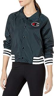 Champion Life Womens Coaches Jacket Warm Up Jacket - Blue