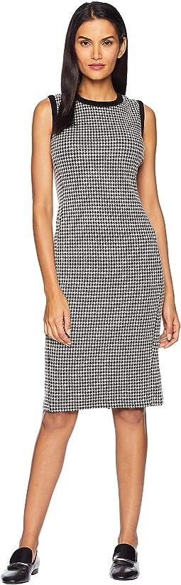 f23d10495b LAUREN Ralph Lauren. Houndstooth Sleeveless Dress