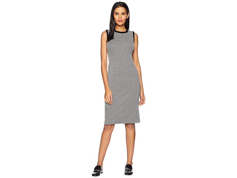 LAUREN Ralph Lauren Houndstooth Sleeveless Dress (Multi) Women