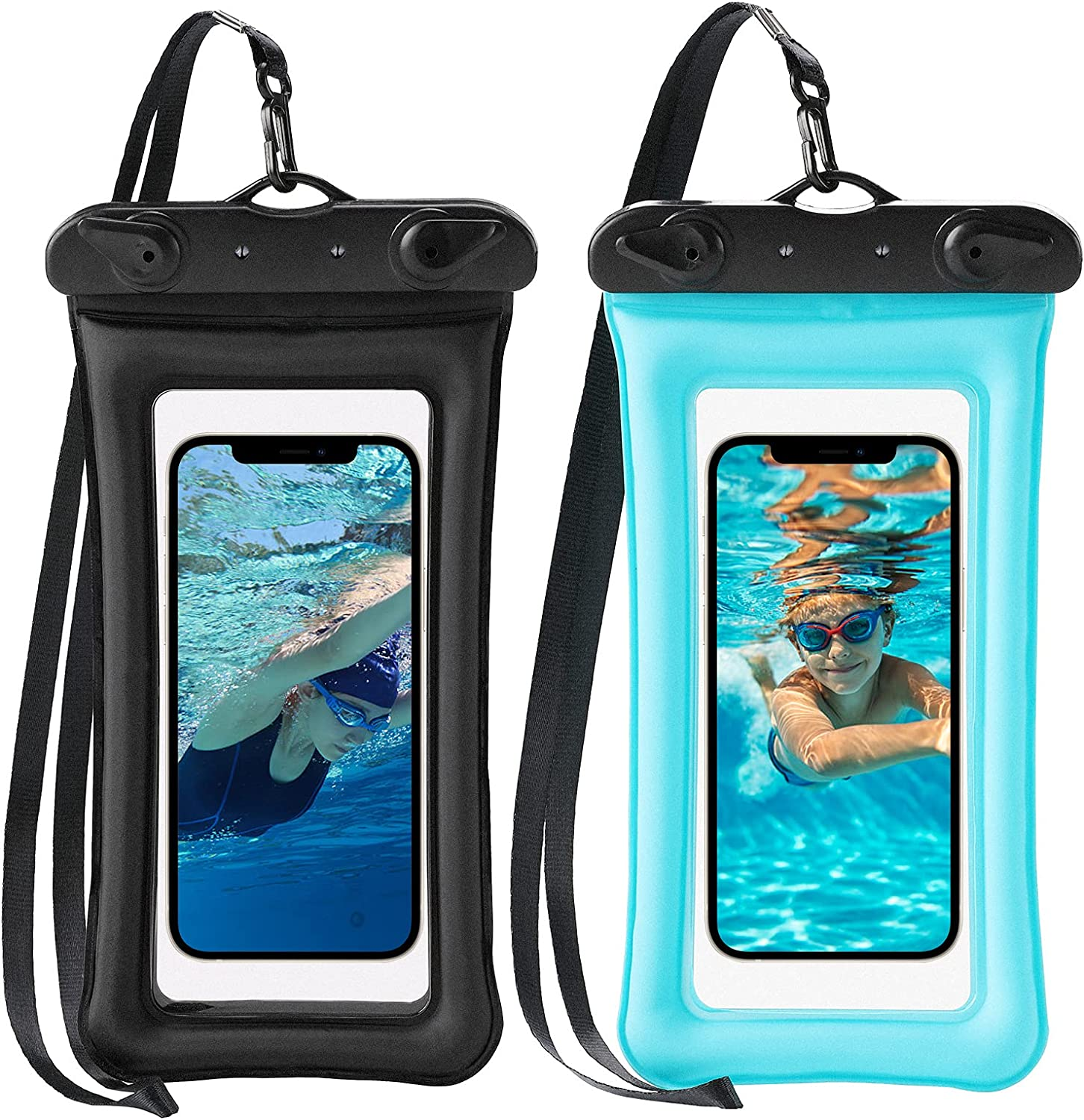 Universal Extra-Large Waterproof Pouch,Underwater Dry Bag for iPhone 12ProMax,Google Pixel5,Galaxy S21Ultra and Other Smart Phones Up to 7.0