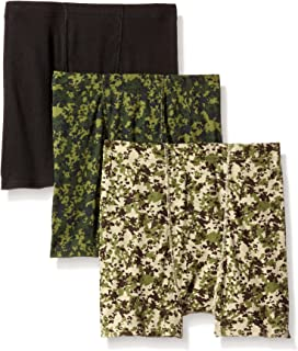 Hanes Boys' 3-Pack ComfortSoft Printed Boxer Brief
