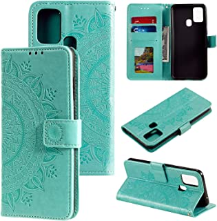 CHENCHUAN Case Cover For Huawei Honor 9X Lite Totem Flower Embossed Horizontal Flip TPU + PU Leather Case with Holder & Ca...