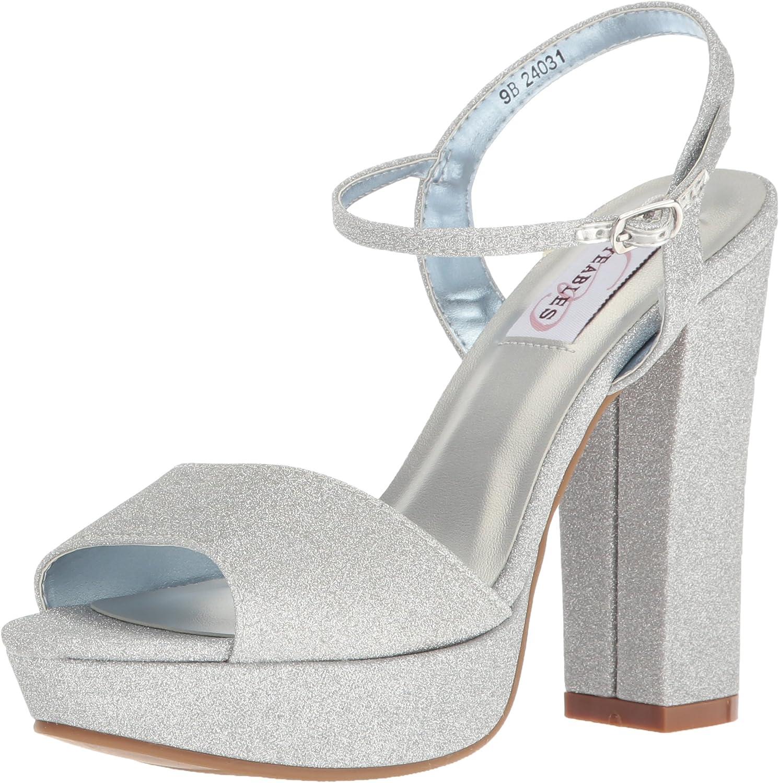 Dyeables, Inc Womens Womens Whitta Platform Dress Sandal