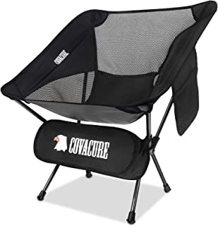 Covacure Ultralight Folding Camping Chairs - Lightweight...