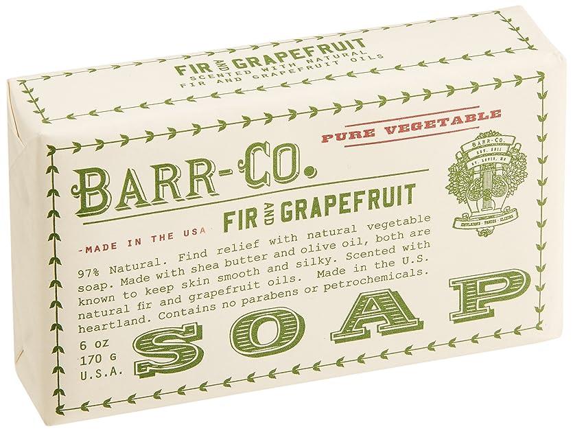 プーノリマかみそりBARR-CO.(バーコー) バーソープ FIR&GRAPEFRUIT