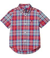 Plaid Cotton Poplin Shirt (Toddler)