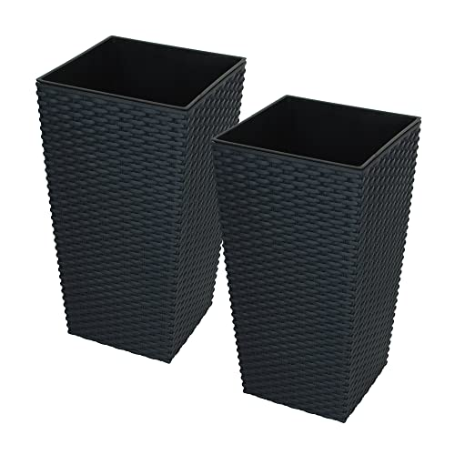 Cool Tall Plant Pots Amazon Co Uk Download Free Architecture Designs Embacsunscenecom