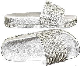 glitter slides size 12