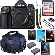 $2199 » Nikon D780 DSLR Camera (Body Only) || 24.5MP FX-Format || UHD 4K30 Video || 3D Tracking || Wi-Fi with Padded Shoulder Case...