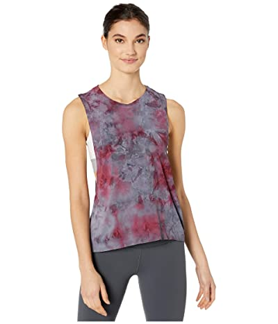 Spiritual Gangster Active Flow Top (Peace Galaxy Wildberry Galaxy Tie-Dye) Women