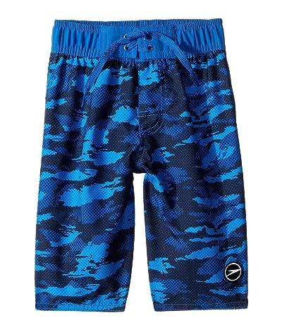 Speedo Kids Crush It Camo Comfort Liner Volley (Little Kids/Big Kids) (Classic Blue) Boy