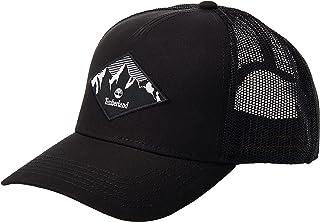 قبعة سائق الشاحنة بتصميم منظر طبيعي ماسي للرجال، اللون: أسود، المقاس: مقاس واحد