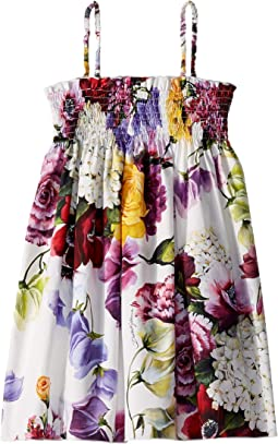 D&G Floral Swimsuit Cover-Up Dress (Little Kids)