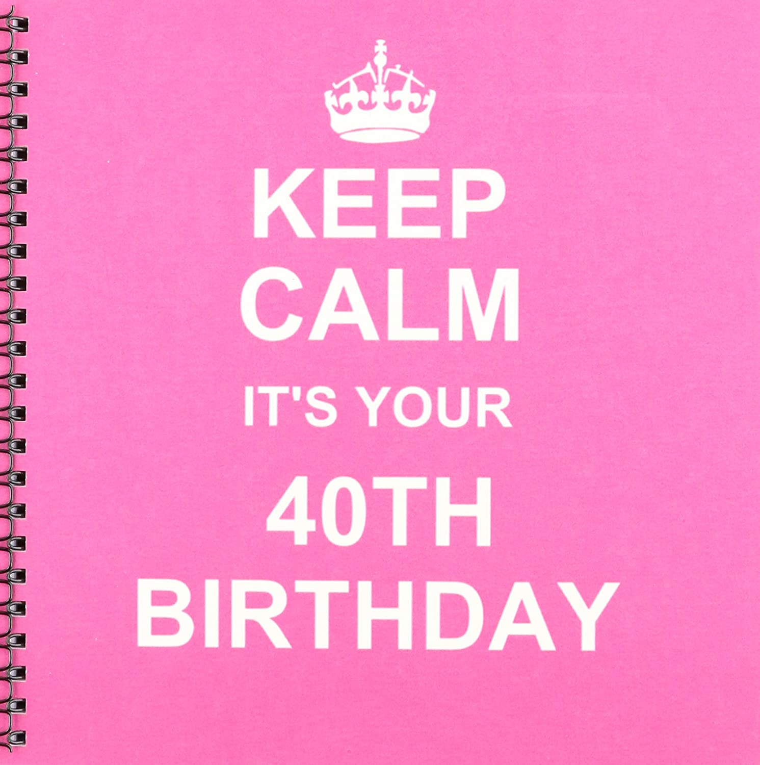 Keep Calm Its Your 40th Birthday