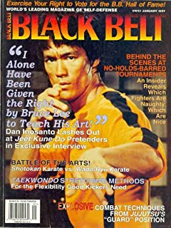 Black Belt Magazine, January 1997 (Vol. 35, No. 1)