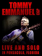 Tommy Emmanuel CGP Live and Solo in Pensacola Florida
