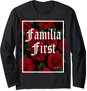 FAMILIA FIRST RED ROSES T SHIRT Long Sleeve T-Shirt
