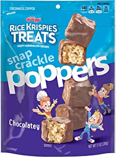Rice Krispies Treats Poppers, Crispy Marshmallow Squares, Chocolatey, 7.1 Ounce