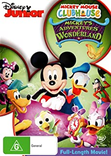 Mickey Mouse Clubhouse Mickey's Adventures In Wonderland | NON-USA Format | PAL | Region 4 Import - Australia