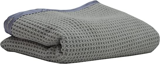 Sobby Microfiber Drying Towel   Waffle Weave Extra Large Microfibre Drying Cloth, 50 cm x 80 cm, 400 GSM, Satin Edge