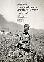Scaricare Libri Memorie di guerra dall'Africa Orientale 1935-1936 PDF