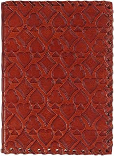 storeindya Diwali Gift Decoration Travel Diary Journal Leather Diary Business Diary and Journal Handmade Unlined Pages Compact Writing Journal for Men & Women (Playing Card Collection)