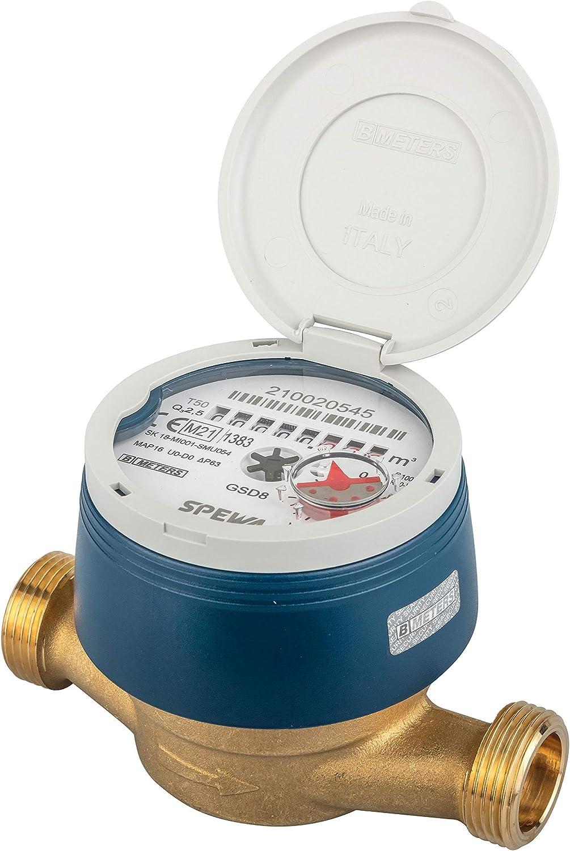 Contador de agua resistente a las heladas y calibrado con cubierta de protección UV Calibre 2021