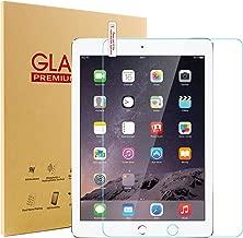 Glass Screen Protector for New iPad 9.7 2017/2018, SENGBIRCH 9H Hardness Tempered Film for iPad 5th / 6th Generation, iPad Air 1, iPad Air 2, iPad Pro 9.7.