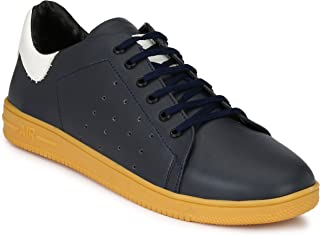 Andrew Scott Men's Synthetic Leather Sneakers