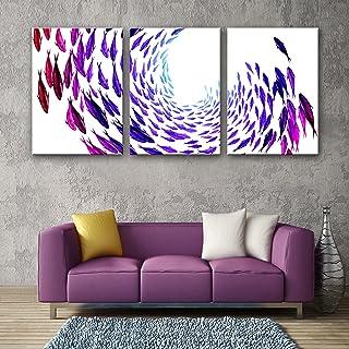 LTQ&QING new-Frameless Malerei, gestreckte Leinwand Kunst Farbe Fisch Dekoration Malerei Set, 50703 B07CSQC5W9  Nutzen Sie Materialien voll aus