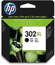 HP F6U68AE 302XL Cartucho de Tinta Original de alto rendimiento, 1 unidad, negro