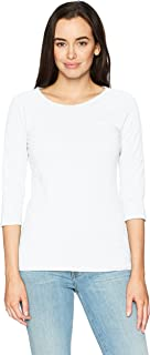 Women's Stretch Cotton Raglan Sleeve Tee