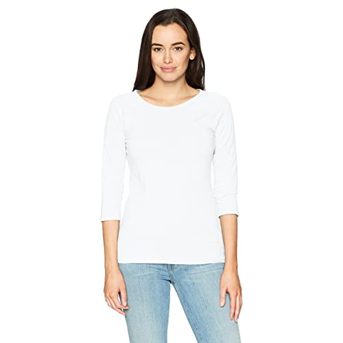 bebd5927da6 Hanes Women's Stretch Cotton Raglan Sleeve Tee