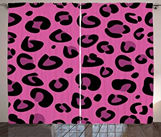 Best leopard curtain panels Reviews