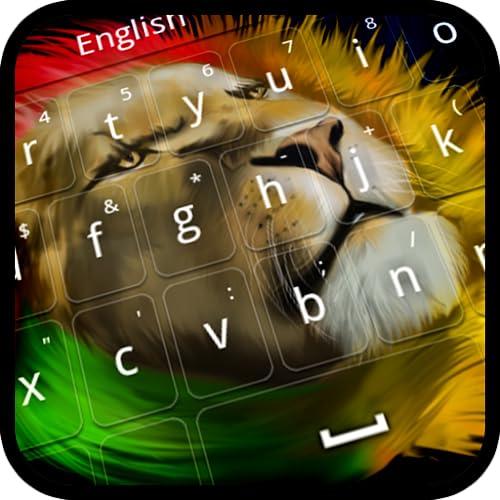 Rasta Löwe-Tastatur