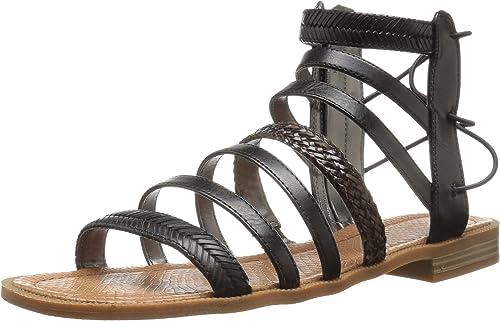 Nine West Wohombres Xema Synthetic Gladiator Sandal, negro Multi, 10.5 M US