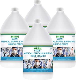 Hypochlorous Acid Professional Medical & Dental Cleaner (4-Gallons), Ready-to-Use 500PPM (HOCL), Powerful Cleaning and Deo...