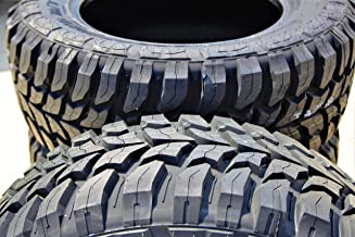 Set of 2 (TWO) Crosswind M/T Mud Radial Tires-33X12.50R22LT 109Q LRE 10-Ply