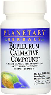 Planetary Herbals Bupleurum Calmative Compound Tablets, 60 Count