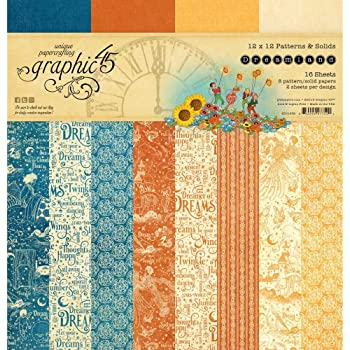 taille unique assorti Graphic 45 Paperpack